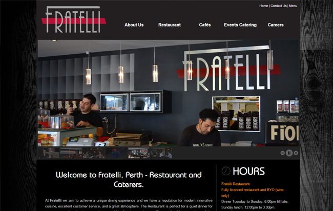 Fratelli Sorrento is a food catering service company in Perth, Australia