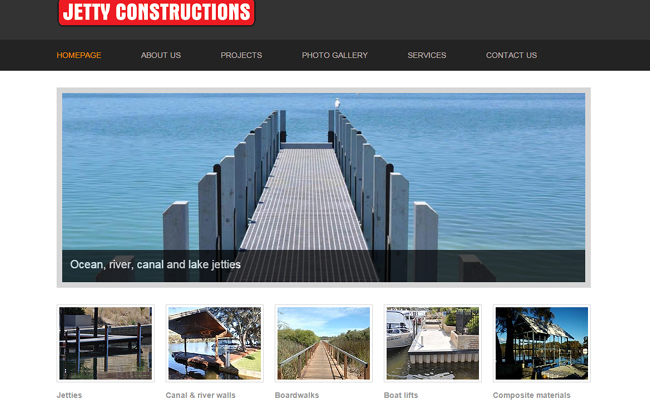 jetty constructions is in construction business in Perth, Australia
