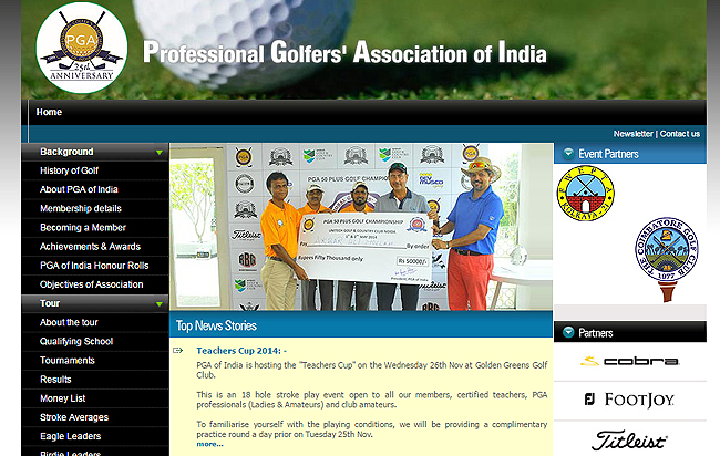 pgaofindia promotes kids for the basic golf skills