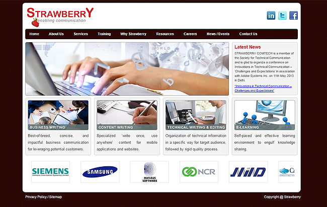 strawberrycomtech is in software and provide online solutions