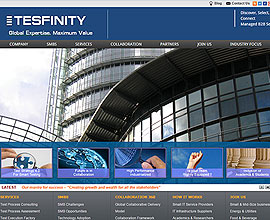 Tesfinity website is responsive in wordpress USA